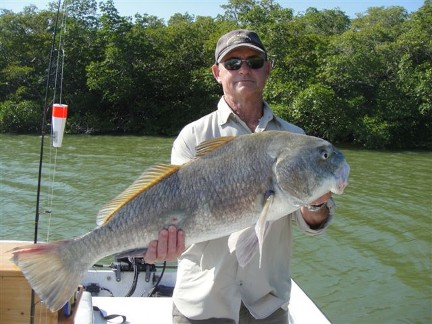Gregg Hobbs with a beautiful redfish