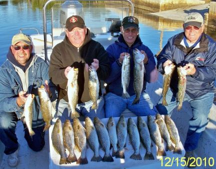 HCFC Members with a limit of trout