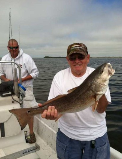 HCFC Member Ray Hughes with a beautiful redfish